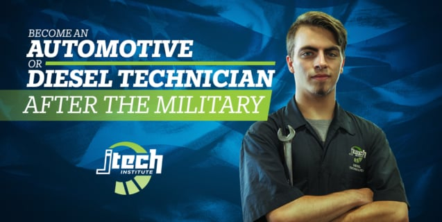 J-Tech Becoming an Automotive or Diesel Technician after the military