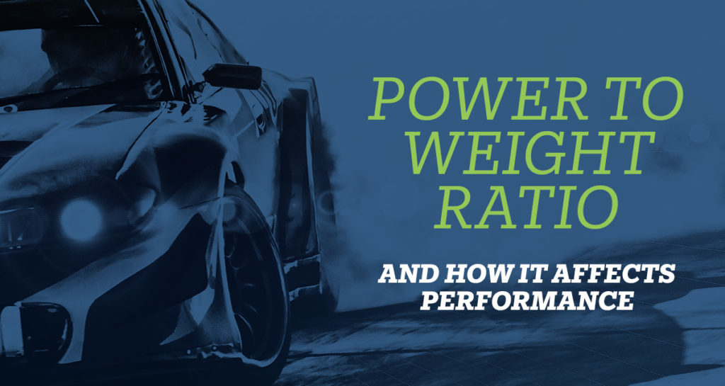 power to weight ratio