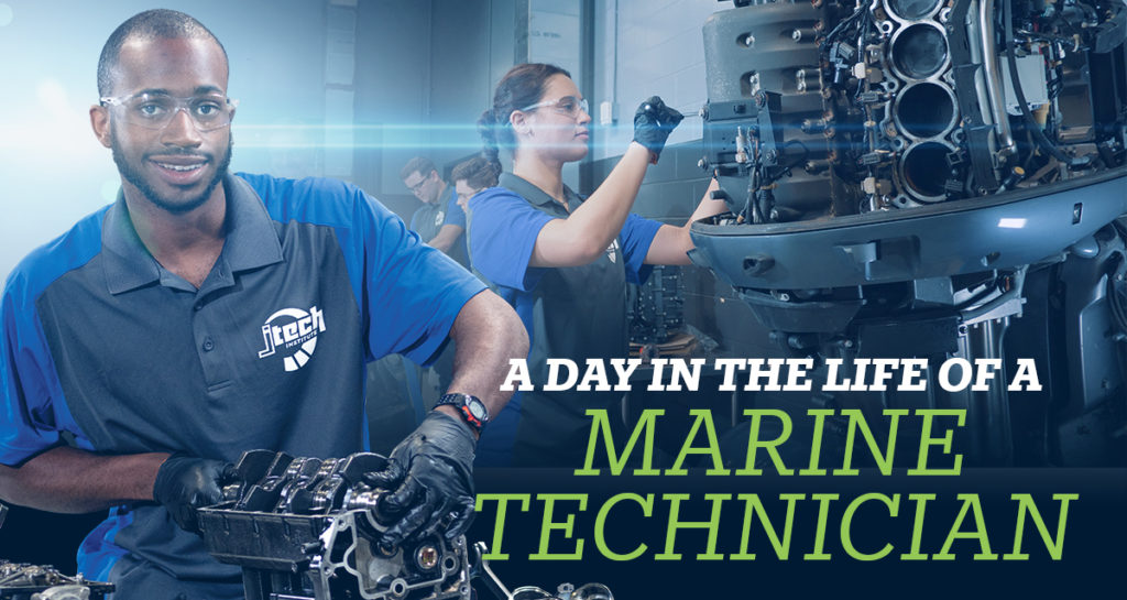 A day in the life of a marine technician